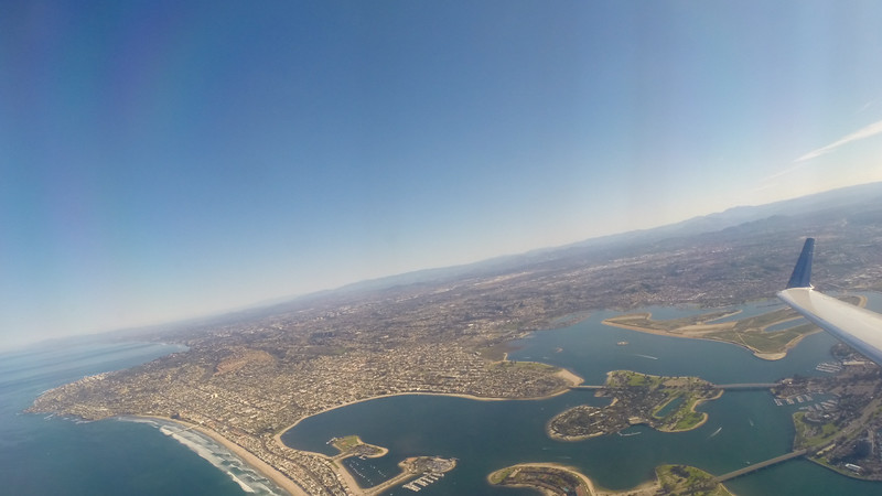 Commuter Flight From San Diego To LA
