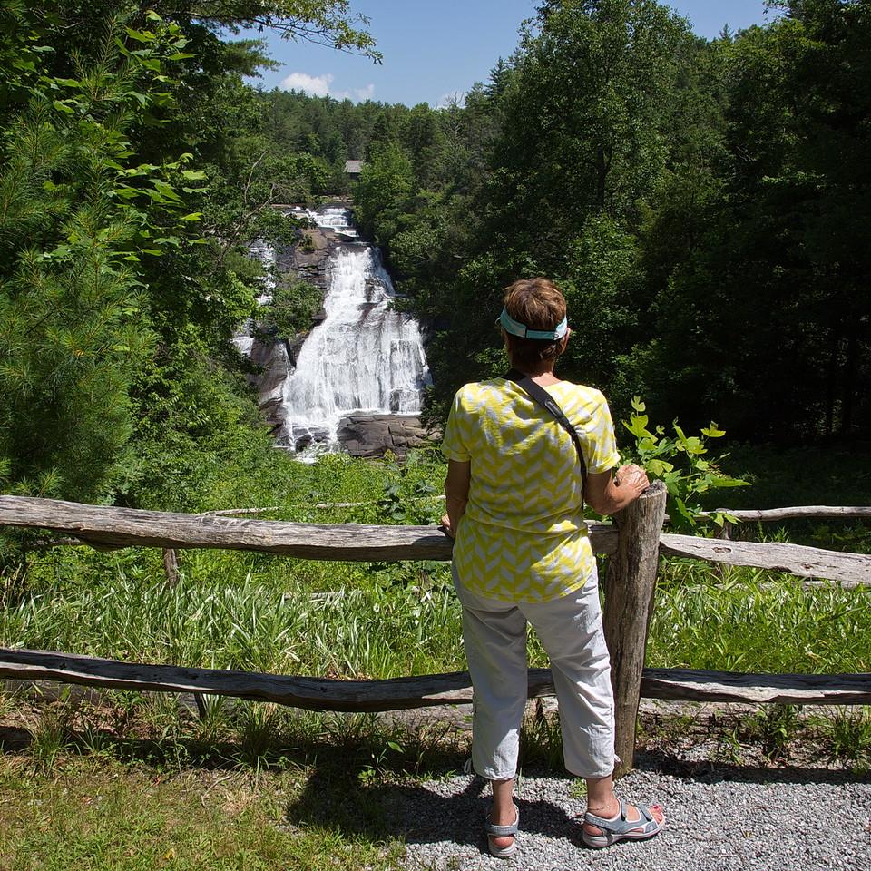 Jodi enjoying the view.