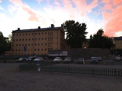 Former Långholmen prison, Kronohäktet, transformed into a hotel. A funny experience.