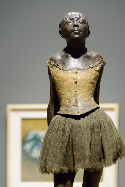 "Edgar Degas, ""The Little Dancer, Aged Fourteen,"" 1878-1879"