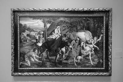 "Jacopo da Ponte (Jacopo Bassano), ""The Flight into Egypt, About 1544-1545"