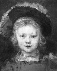 "Rembrandt van Rijn, ""Portrait of a Boy."" Detail, 1655-1660"
