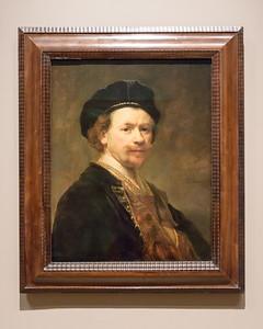 "Rembrandt van Rijn, ""Self-Portrait,"" 1636-1638"