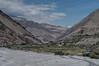 Kagbeni, looking north up the Kali Gandaki