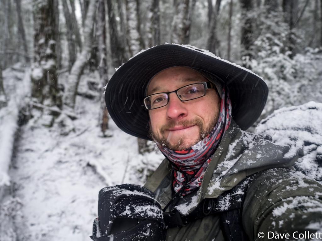 Snowy selfie
