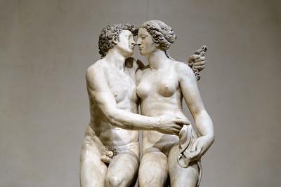 """Atlanta and Meleager with the Calydonian Boar,"" Francesco Mosca (Il Moschino), c. 1564-1565, Carrara Marble"