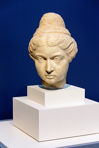 """""""Young Girl,"""" Roman, c. A.D. 140-150, Marble"""