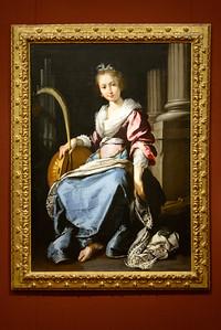 """Saint Cecilia,"" Bernardo Scrozzi, 1620-1625, Oil on Canvas"