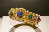 """Bracelet,"" Byzantine, A.D. 500s, Gold, Gem and Pearl"