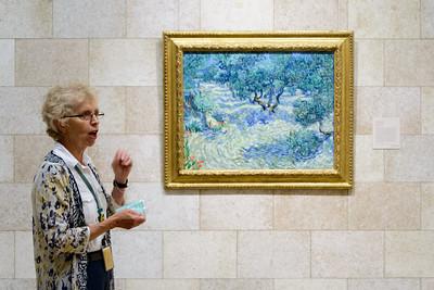 """""""Olive Orchard,"""" Vincent van Gogh, 1889"""