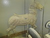 "An antique ""Illion"" horse.  I think Illion was the carver."