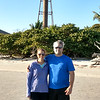 Julie & Doug at Sanibel lighthouse