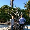 Vadis & Julie at Sanibel lighthouse