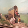 An early painting of the Argentine landscape by Prilidiano Pueyrredón. Could the wagons really have been as narrow as that? Pueyrredón is the name of the main metro station for Recoleta, and it's named after Prilidiano's father, who was a general and politician.