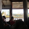 Inside the packed launch back to Tigre, passing an amusement park close to town.