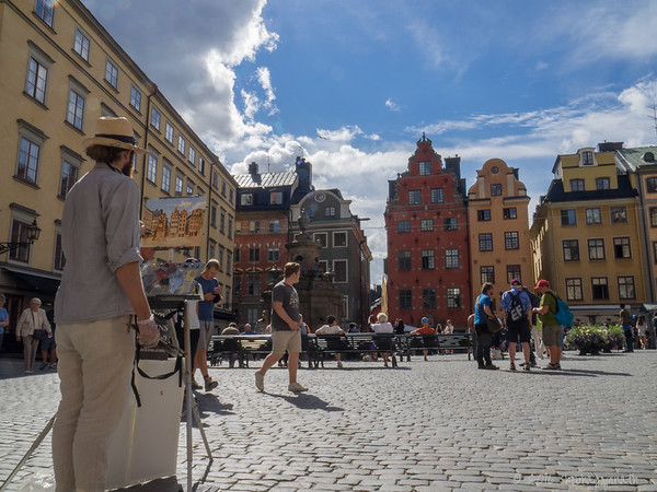Gamla Stan stortorget (main square)