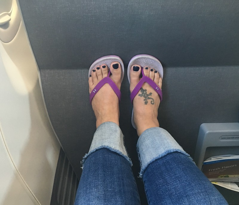 Lots of legroom when you're short like me!