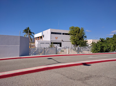 Back of the FBO maintenance building.