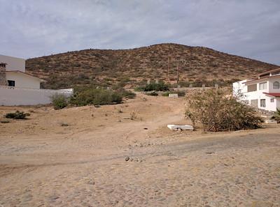 Toward road to Los Barilles