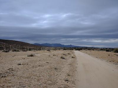 Road toward strip