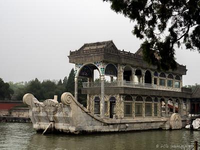 Marble dragon boat, Summer Palace