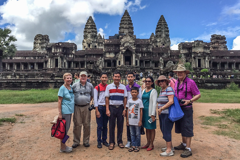 The Temple of Angkor Wat - Built in the 12th Century