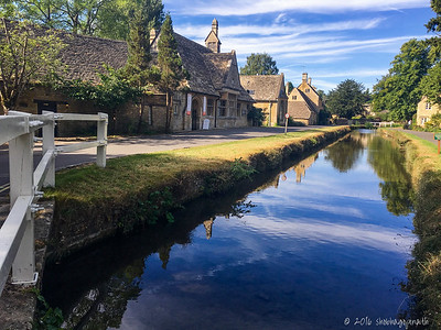 The quiet, slumbering village of Lower Slaughter