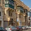 Valletta, Malta - I read that the boxed verandas allowed Muslim women to look out on the street without being seen.
