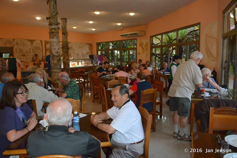 Dining room @ Horizontes Hoteles Los Caneyes, Cuba - April 7-8, 2016
