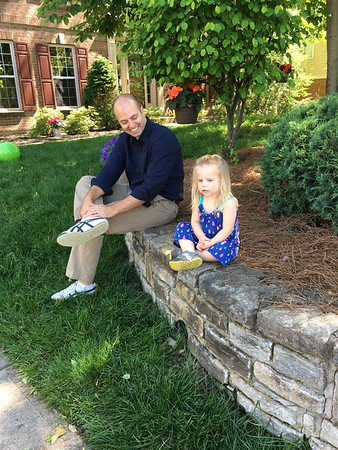 2016 Daddy Daughter trip to Cincy