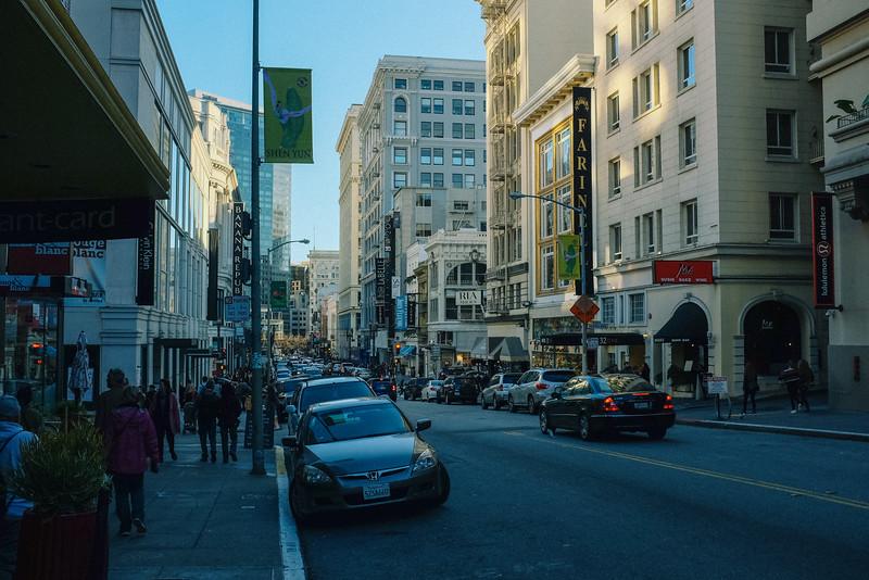 Union Square Shopping, San Francisco