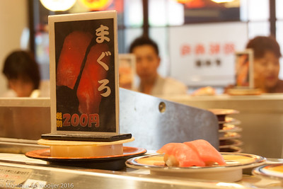 Fukuoka - sushi restaurant