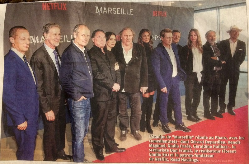 "Cast and others associated with ""Marseille"""