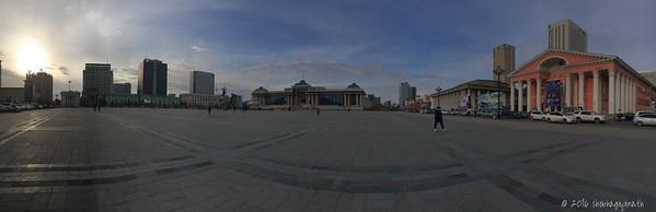 Sukhbataar Square, Ulan Bataar