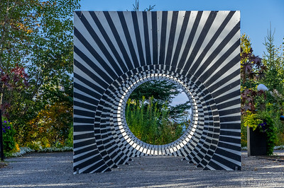Jardins de Métis (Reford Gardens) International Sculpture exhibition