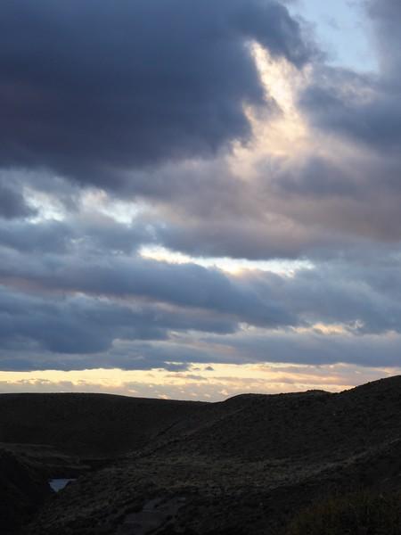 Sunrise near El Chalten
