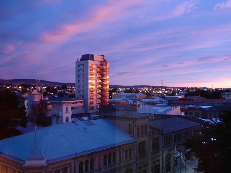 Dawn at Punta Arenas