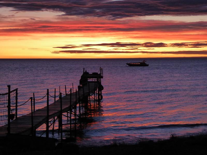 Straight of Magellan at Sunrise