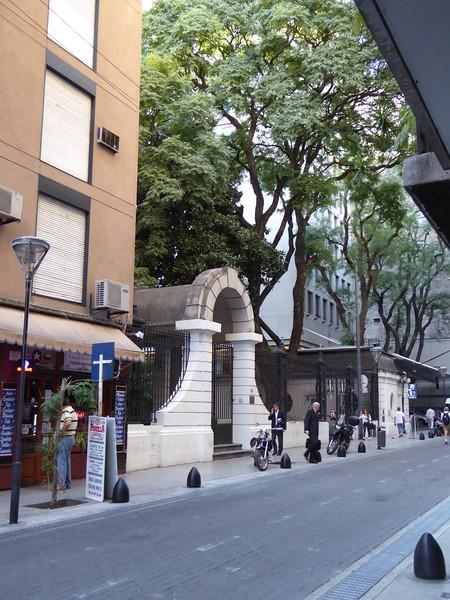 Streetview from Casa Calma Hotel, Buenos Aires
