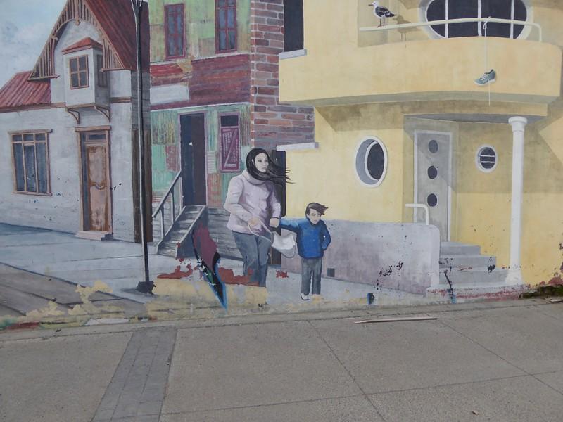 Punta Arenas Mural