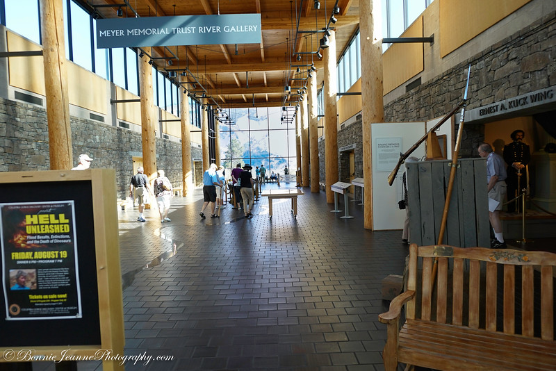 The Columbia River Discovery Center