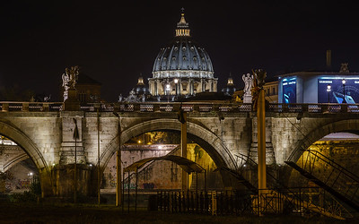 Ponte Sant'Angelo (Night)