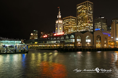 The Lights of the Port of San Francisco Ferry Terminal