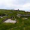 Skara Brae is a stone-built Neolithic settlement, located on the Bay of Skaill on the west coast of Mainland, the largest island in the Orkney archipelago of Scotland. It consists of eight clustered houses, and was occupied from roughly 3180 BC–2500 BC.  It is older than Stonehenge and the Great Pyramids.<br /> <br /> This image shows the remains of the village.