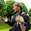 At Donrobin, we saw a slick, informative and humorous falconry demonstration by Andy Hughes, the resident falconer at Donrobin.