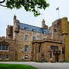"""The Castle of Mey (formerly Barrogill Castle) is a """"small"""" castle located in Caithness, on the north coast of Scotland. It is the most northerly inhibited castle in Scotland. (Prince Charles still uses it.)<br /> <br /> Queen Elizabeth, the Queen Mother, acquired it in 1952 when it was in poor repair and rebilitated it.<br /> <br /> As castles go, it is a cute castle and compared to Donrobin Castle very modest."""