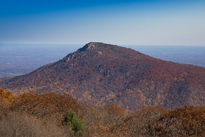 Old Rag from Skyline Drive