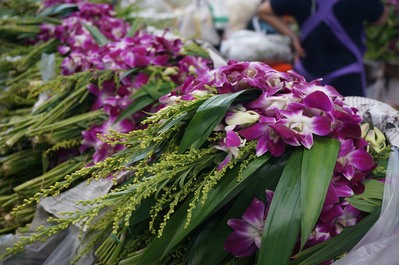 Flower and produce markets