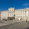 The Royal Palace in Madrid.