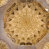 The incredibly densely detailed Hall of the Abencerrajes in the Alhambra.